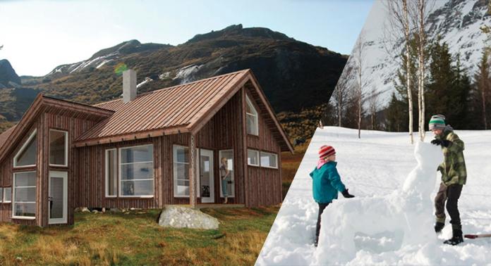 hytte-barn-snø
